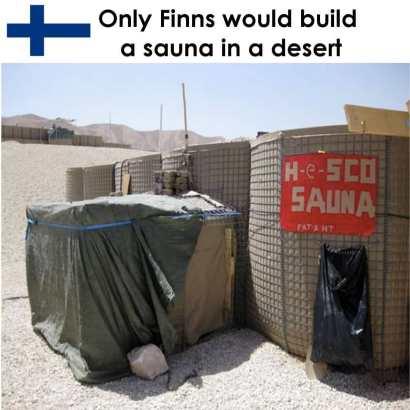 sauna öken